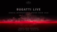 Tisková konference Bugatti