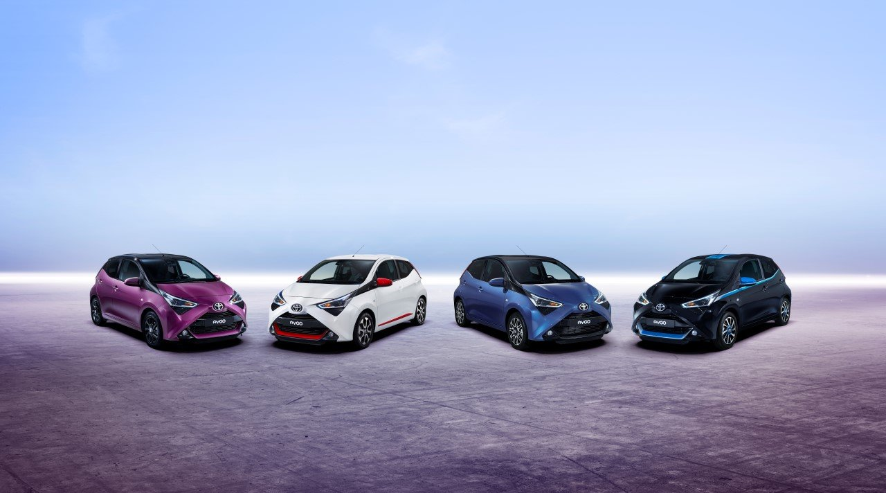 Nová generace Toyoty Aygo