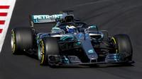 Valtteri Bottas v druhých předsezonních testech v Barceloně