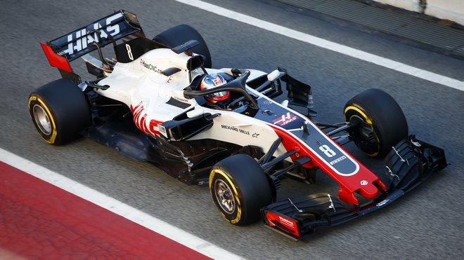 Romain Grosjean způsobil velkou havárii