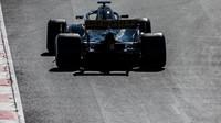Nico Hülkenberg v druhých předsezonních testech v Barceloně