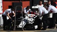 Charles Leclerc v druhých předsezonních testech v Barceloně
