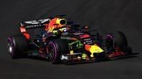 Daniel Ricciardo s použitím Flow-vis v druhých předsezonních testech v Barceloně