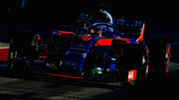 Brendon Hartley s Flow-vis v druhých předsezonních testech v Barceloně