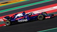Brendon Hartley v druhých předsezonních testech v Barceloně