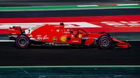 Kimi Räikkönen v druhých předsezonních testech v Barceloně