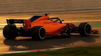 Stoffel Vandoorne s novým McLarenem MCL33 při testech v Barceloně