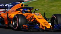 Fernando Alonso v druhých předsezonních testech v Barceloně