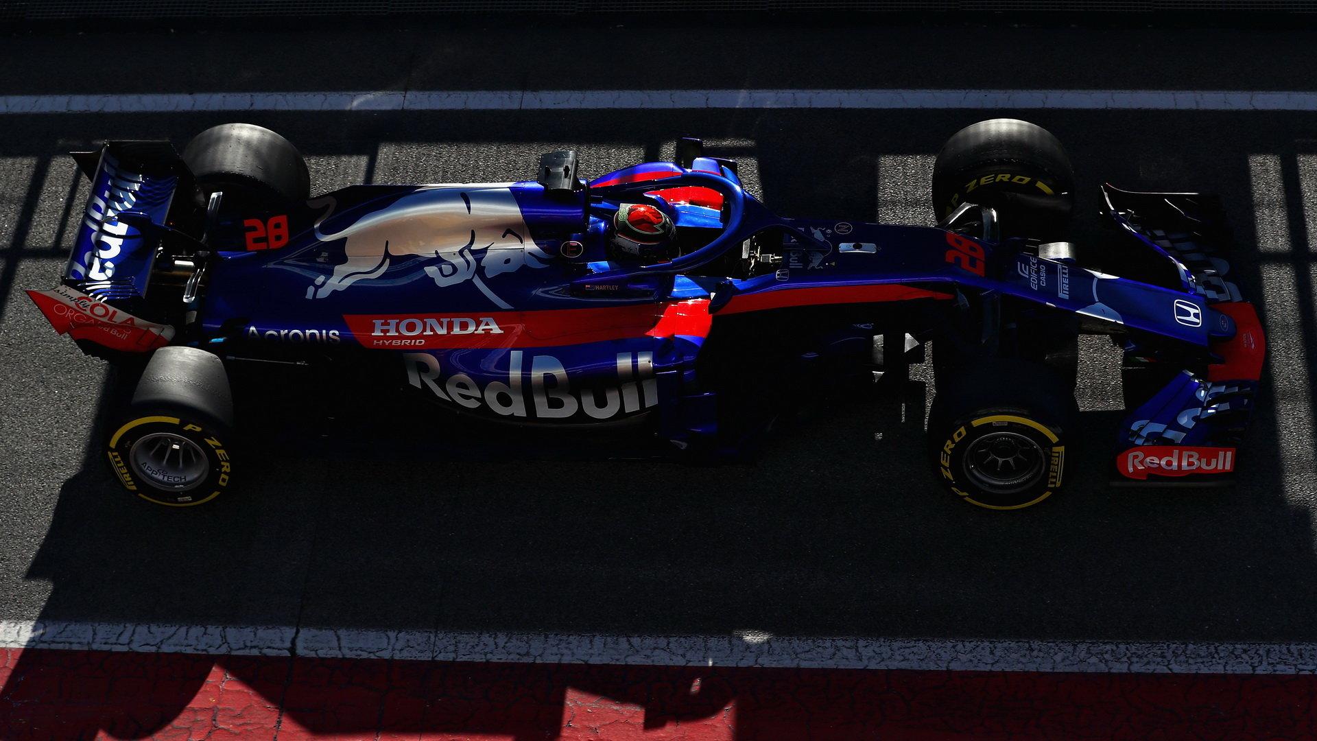 Toro Rosso zažilo bezproblémové předsezónní testy s Hondou