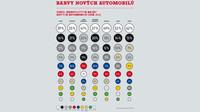Infografika: Oblíbené barvy nových automobilů ve světě