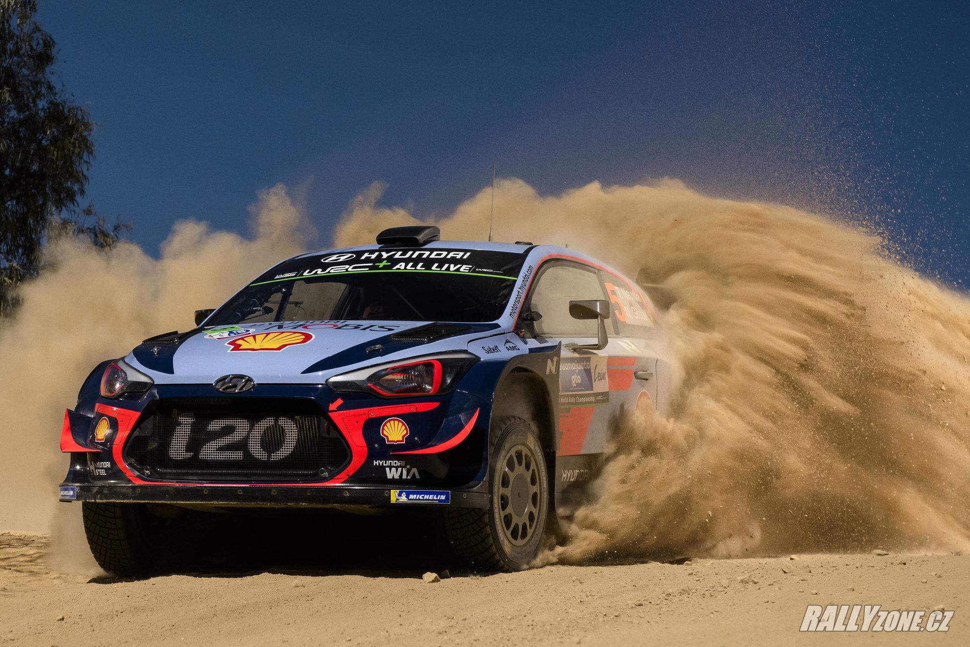 Jak pojede letošní i20 WRC Coupe na šotolině? Mexiko kvůli jeho vysoké nadmořské výšce nemůžeme brát jako referenci