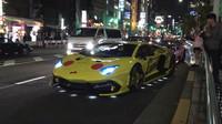 Haloweenská přehlídka upravených Lamborghini