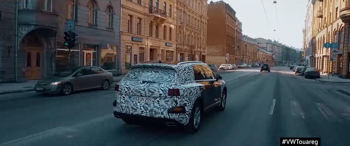 Nový Volkswagen Touareg na své velké cestě z Bratislavy do Pekingu