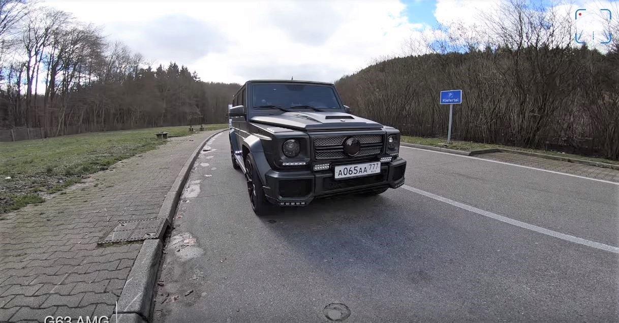 Mercedes-AMG G63 o výkonu 1000 koní se na dálnici utkal s Mercedesem-AMG GT R