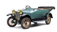 Původně lidová řada S postupně narostla do formátu střední třídy. Na snímku exponát Škoda Muzea, L&K typ Si z roku 1918