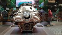 Kompaktní rozměry pohonné jednotky Mercedesu