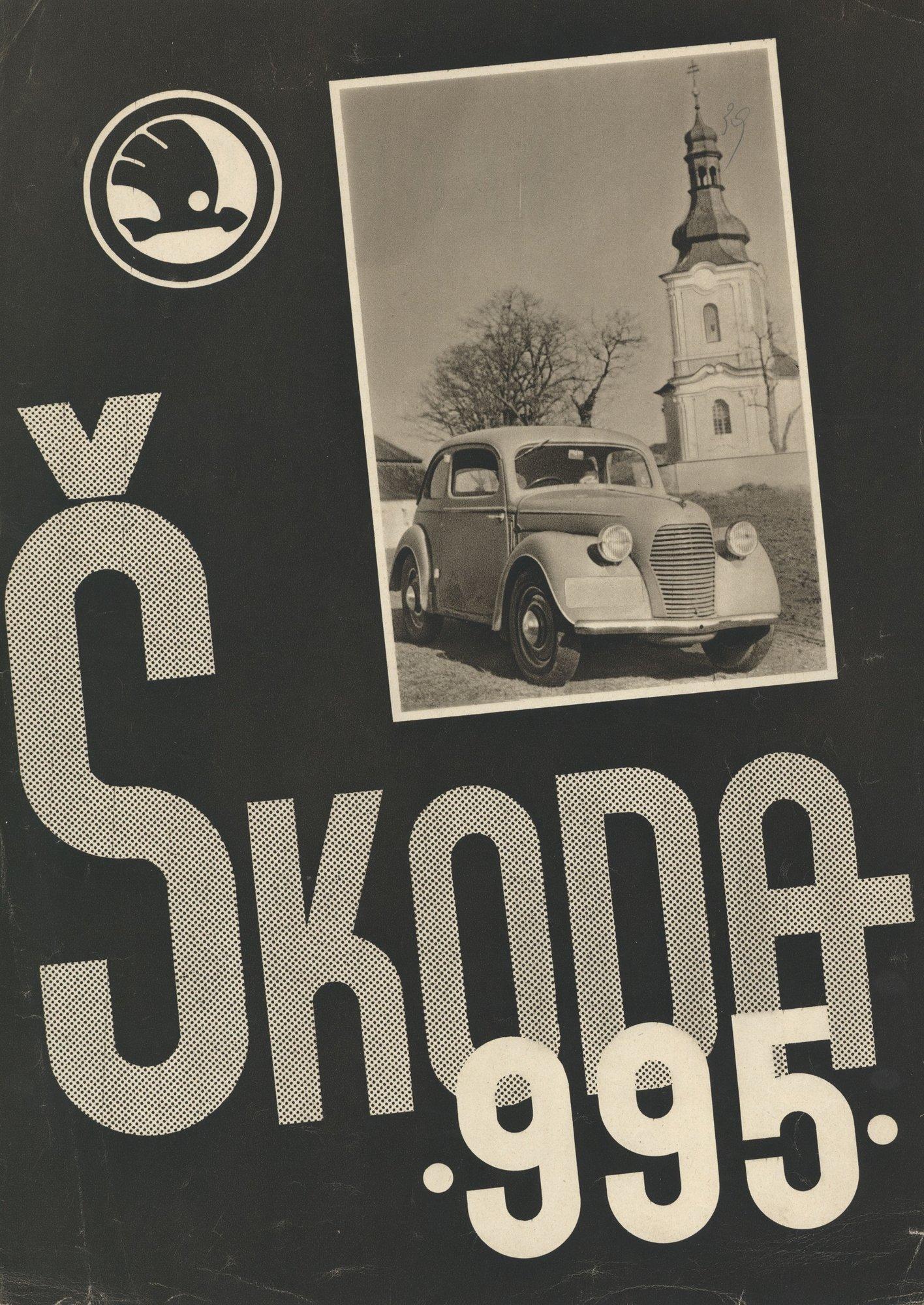 Vyvrcholením snahy o skutečně lidový vůz se stala Škoda Popular 995 (na snímku dobový inzerát).