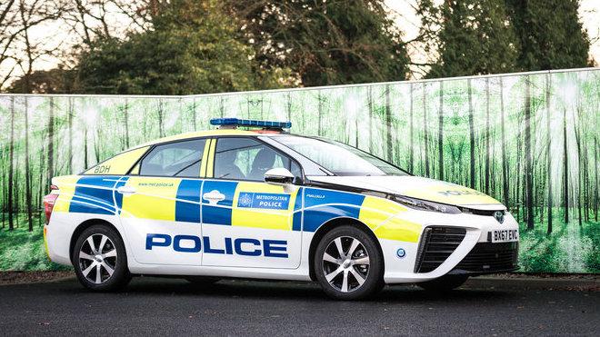 Toyota Mirai ve službách britské policie