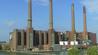 Výrobní hala automobilky Volkswagen ve Wolfsburgu