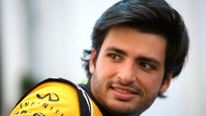 Pro Carlose Sainze příští rok místo u Renaultu už nebude