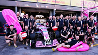 Tým Force India s