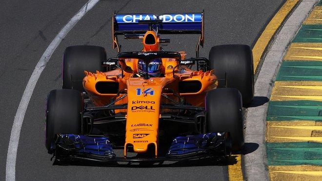 Fernando Alonso skončil dvakrát osmý, McLaren je spokojený