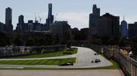 Páteční trénink v Melbourne v Austrálii