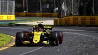 Carlos Sainz při pátečním tréninku v Melbourne v Austrálii