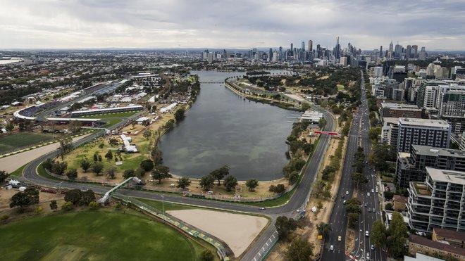 Trať v Melbourne