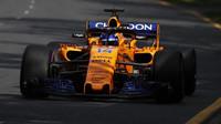Fernando Alonso v Melbourne