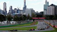 Závod v Melbourne v Austrálii