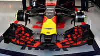 Přední křídlo vozu Red Bull v Melbourne v Austrálii