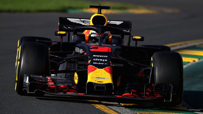 Daniel Ricciardo s Red Bullem RB14