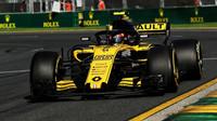 Carlos Sainz v závodě v Melbourne v Austrálii