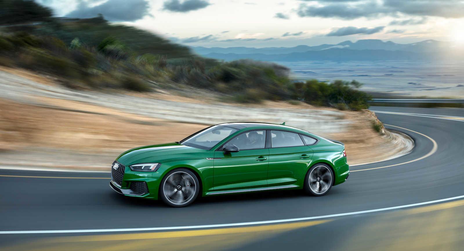 Nová Audi RS5 Sportback