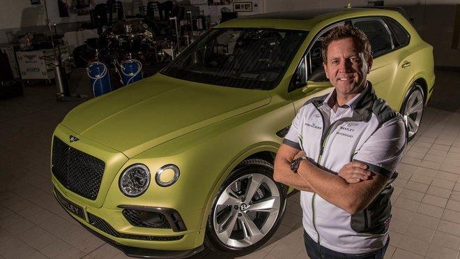 Rhys Millen se pokusí zdolat slavnou horu Pikes Peak v rekordním čase za volantem Bentley Bentayga