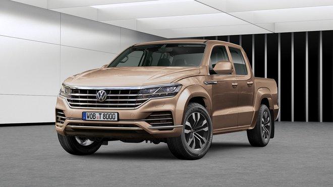 Volkswagen Amarok druhé generace by se mohl inspirovat například u nového VW Touareg
