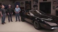 Originální KITT ze seriálu Knight Rider (Pontiac Trans Am z roku 1982)