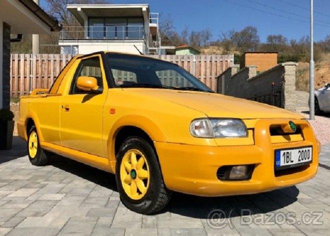 Škoda Felicia Fun za 224 900 Kč