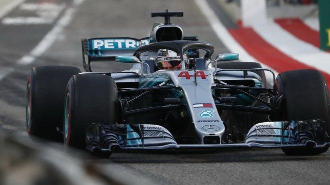 Lewis Hamilton dojel v Šanghaji čtvrtý