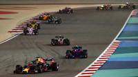 Daniel Ricciardo v zaváděcím kole závodu v Bahrajnu