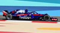 Pierre Gasly zajel v kvalifikaci na Velkou cenu Bahrajnu šestý nejrychlejší čas