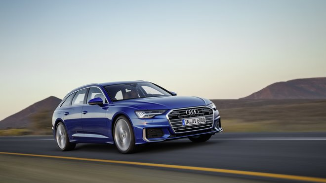 Nová Audi A6 Avant