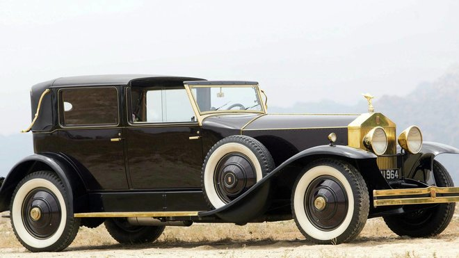 Rolls-Royce Phantom II Marlborough Towne Car Laudaulette z roku 1931