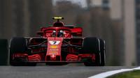 Kimi Räikkönen dnes na pole-position měl