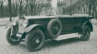 Mladoboleslavské šestiválce s šoupátkovým rozvodem Knight patřily k nejtišším vozům poloviny 20. let. Na snímku typ 350.