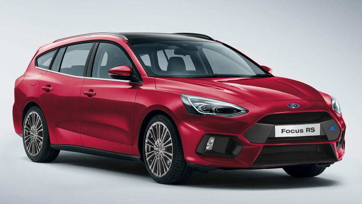 Návrh Fordu Focus RS v provedení kombi