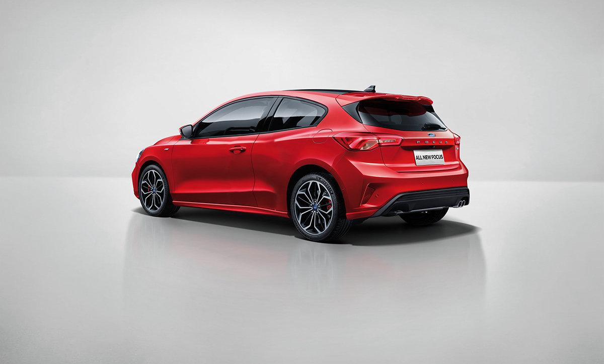 Návrh Fordu Focus ST Coupe