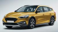 Návrh Fordu Focus RS v provedení Active