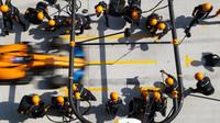 McLaren v závodě v Číně